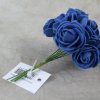 Our Petite Small, 2.5cm Foam Roses in Royal