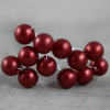 Front View Of The Burgundy Pearl Bunch