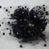 Our Black Rosette & Diamante Bunches