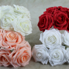 Large Foam Rose Bunches.