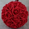 Red With No Foliage 23cm Pomander Ball