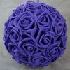 Purple With No Foliage 23cm Pomander Ball
