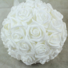 White With No Foliage 23cm Pomander Ball