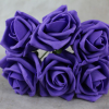 Deep Purple Foam Roses