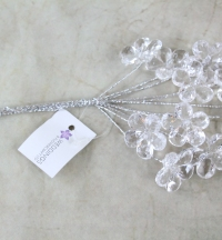 Acrylic Crystal Flower Spray | Weddings & Flowercraft