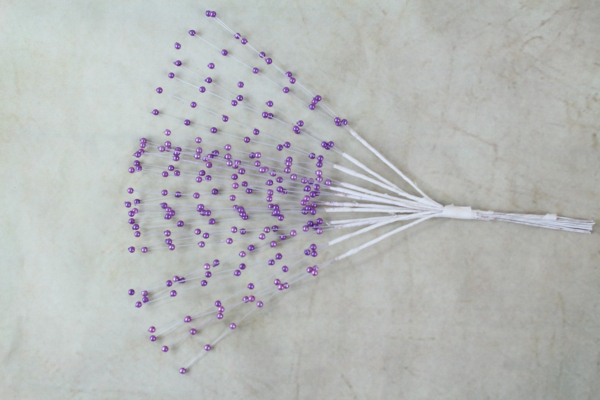 One Of Our Purple Beaded Sprays
