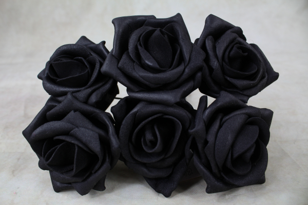 Black With Black Stems