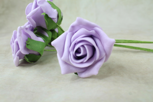 Light Lilac With Green Stems