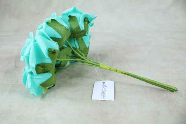 Tiffany Blue With Green Stem
