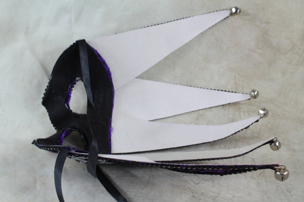 Inside Of Purple Jester Mask