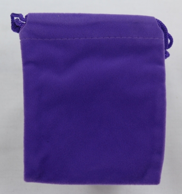 Our limited stock Purple Organza bag in Velvet finish.