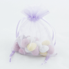 Medium Lilac Organza Bag