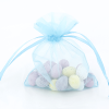 Medium Tiffany Blue Organza Bag