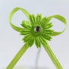 Our eye catching lime green craft bow