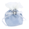 Satin Dolly Bag with Diamanté Heart