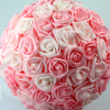 360 images of our large mixed Pink foam Rose Pomander 32cm