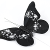 Jewelled Butterfly Mix - Black