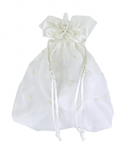 Satin & Pearl Dolly Bag | Weddings & Flowercraft