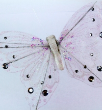 Our very large artificial Butterfly 27cm wings.