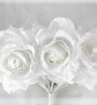 9cm Silk Rose Bunch