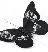 Jewelled Butterflies On Stems | Weddings & Flowercraft