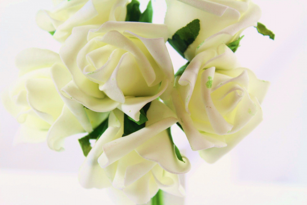 Our beautiful Cream bunch, perfect for that special day