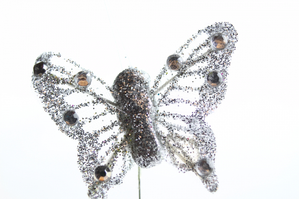 Silver Butterfly - small at 4cm but very well formed and finished.