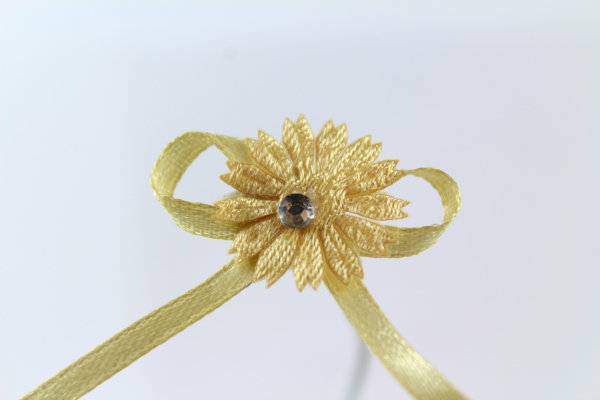 Our gold craft bow fit for a royal