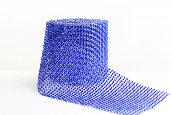 Sapphire Blue Bling Roll - 5m long and 12cm wide for table decoration and much more.