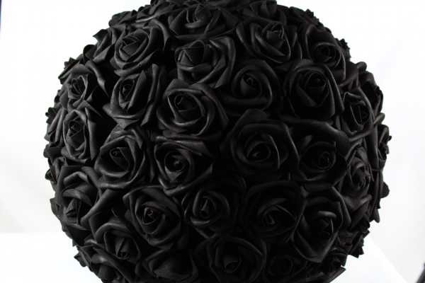 Our black large pomander, perfect for that dark gothic touch