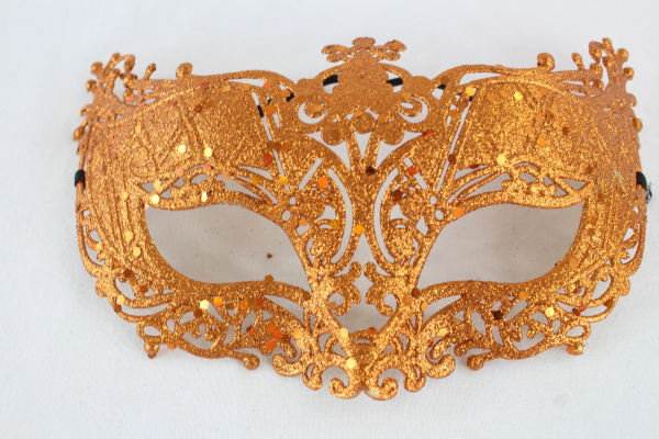 Party Mask Orange